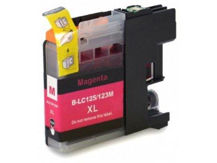 Kompatibilní inkoust Brother LC123M magenta