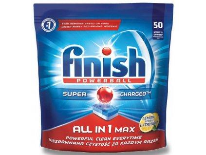 Finish All in 1 tablety do myčky 50ks citrón