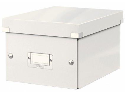Krabice s víkem Leitz Click&Store WOW S bílá