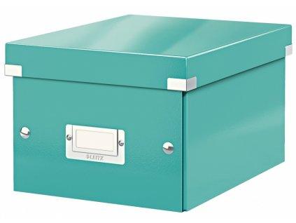 Krabice s víkem Leitz Click&Store WOW S ledově mod