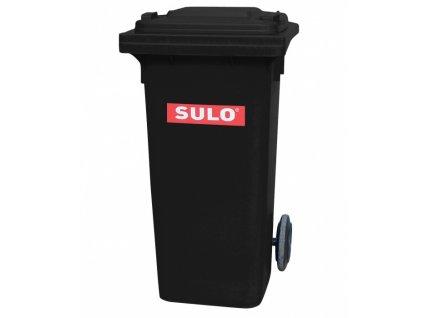 POPELNICE plastová 120L černá