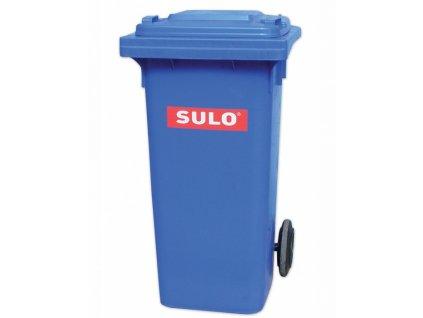 POPELNICE plastová 120L modrá