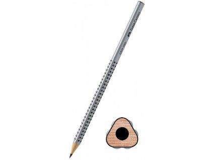Grafitová tužka FABER CASTEL grip B