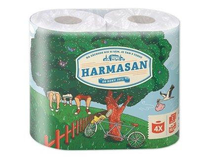 Toaletní papír HARMASAN Classic 4ks