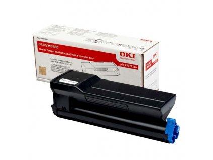 Originální toner OKI 43979216 černý