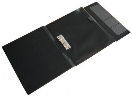 Deska pro řidiče A4 s rychlosvorkou černá