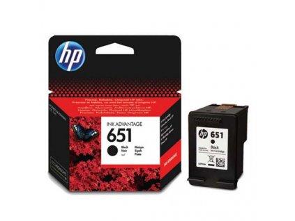 Originální inkoust HP C2P10AE no.651 černý