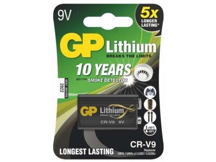 Baterie GP Lithium 9V