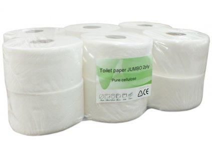 Toaletní papír JUMBO 190 2-vrstvý 120m