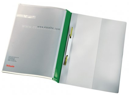 Rychlovazač Esselte PVC zelený