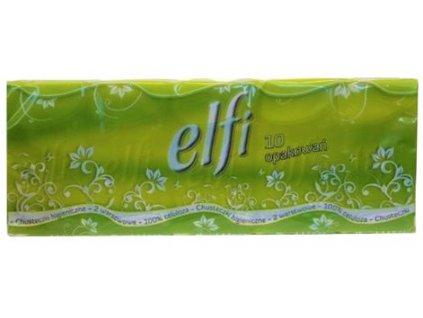 Hygienické kapesníčky ELFI 10ks