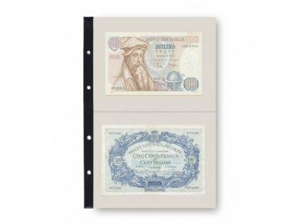 Náhradní list do alba na mince - bankovky