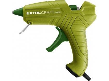 Tavná pistole Extol Craft 40W zelená