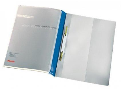 Rychlovazač Esselte PVC modrý