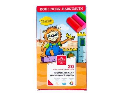 Plastelína Koh-i-Noor 01315 20 barev