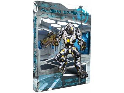 Box na sešity A4 Alien Cyborg