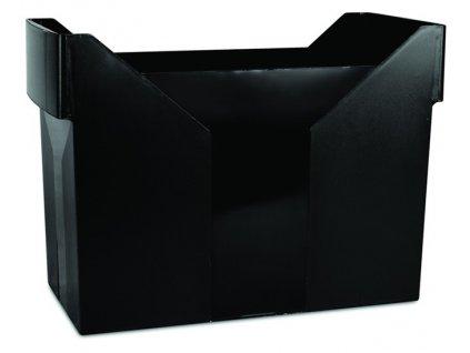 DONAU zásobník na závěsné desky černý