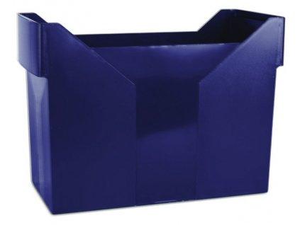 DONAU zásobník na závěsné desky modrý