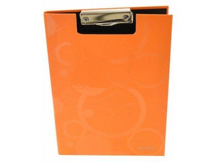 Dvojdeska Neo Colori s klipem A4 oranžová
