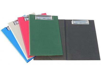 Deska z PVC se svorkou A5 černá