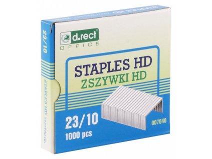 Drátky do sešívaček D.Rect HD 23/10 1000ks