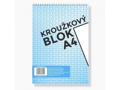Blok BOBO A4 čistý