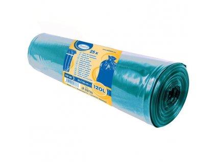 Pytel 70x110cm LDPE 50MY modrý