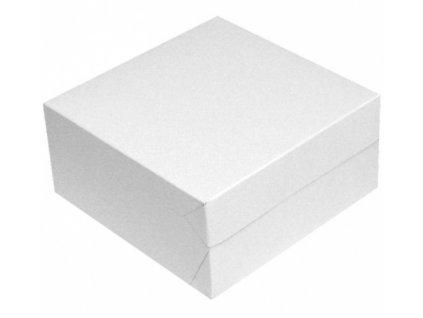 Krabice dortová 20x20x10cm 50ks