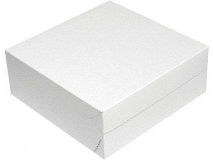 Krabice dortová 22x22x9cm 50ks