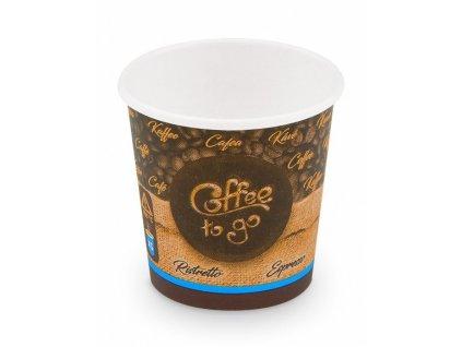 Kelímek 110ml na kávu papírový 50ks