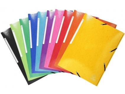 Spisové desky EXC Iderama A4 mix barev