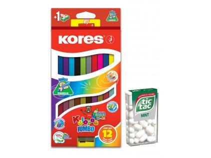 AKCE Pastelky Kores Kolores Jumbo Duo 93252  12k