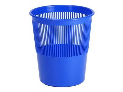 Koš děrovaný 11L modrý