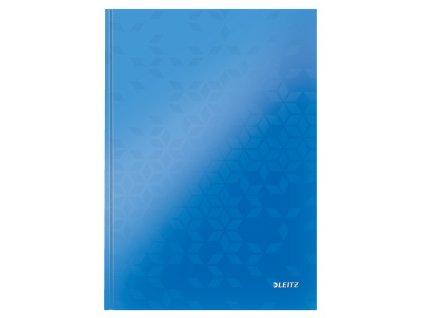 Záznamní kniha LEITZ WOW A4 modrá linkovaná