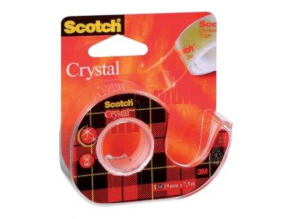 Lepicí páska 3M Scotch krystalická 19mm/7.5m