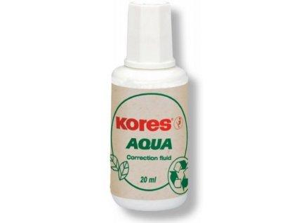Opravný lak Kores Aqua 20ml se štětečkem