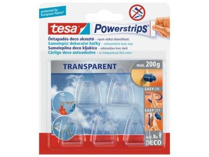 Dekorativní háčky Tesa PowerStripes 5ks