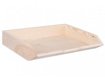 Odkladač dřevěný A4