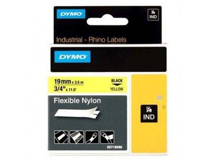 DYMO páska D1 RHINO 19/3,5mm černo/žlutá