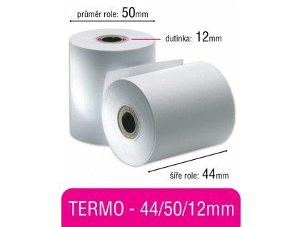 Pokladní kotouček TERMO 44/50/12mm