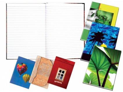 Záznamní kniha Abeceda A5 100 listů