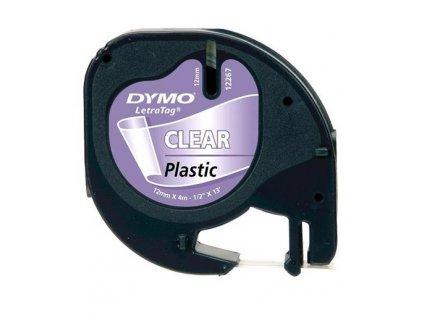 DYMO páska LetraTag 2268 - průhledná