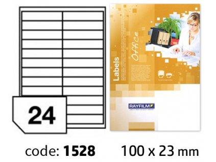 Etikety Office 100x23mm R0100.1528A
