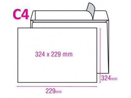 Obálka ELCO C4 samolepicí 250ks