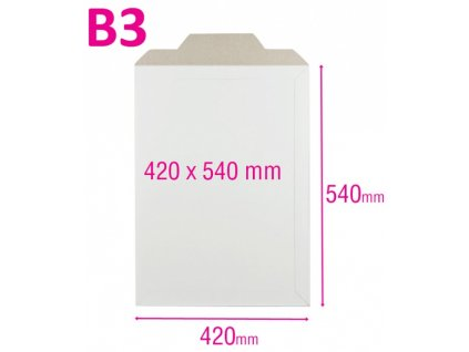 Kartonová obálka B3