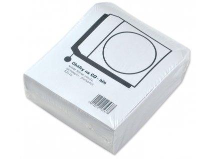 Papírová obálka na CD/DVD 100ks