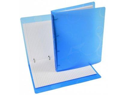 Karisblok NEO COLORI A4 100 listů linkovaný modrý