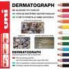 VZOREK popisovače UNI Dermatograph 7600