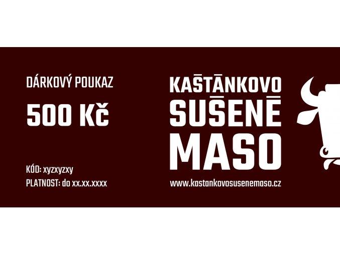 DARKOVE KUPONY 500Kc foto