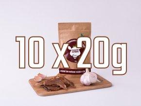 10X20g cesnek